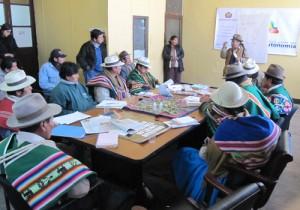 46 Oruron, Consejo de Gobierno Comunitario